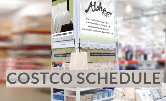 Aloha Soft Bedding at Costco N Fresno