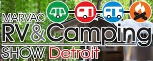 Detroit Camper & RV Show at the Suburban Collection Showplace - Novi, Michigan