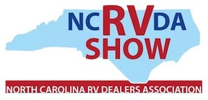 NCRVDA Charlotte RV Show at the Park Expo Conference Center - Charlotte, North Carolina
