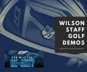 Wilson Staff Golf Demo at Horton Park GC - UK