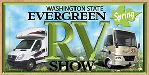 Washington State Evergreen Spring RV Show at the Evergreen State Fairgrounds - Monroe, Washington