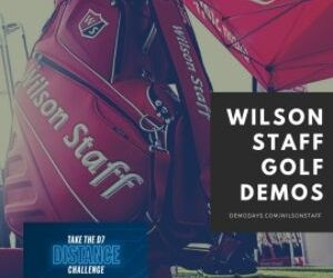 Wilson Staff Golf Demo at Victoria Park Golf Complex - Austrailia - 12-Oct-2021
