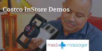 Medmassager Handheld Massage at Costco Montclair
