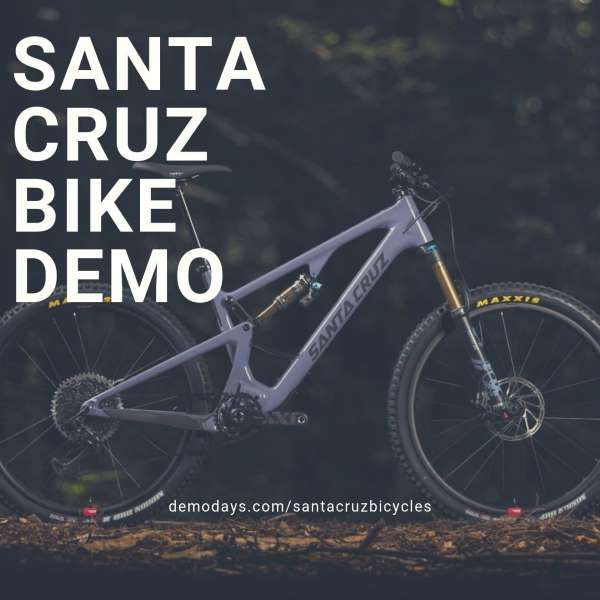 Santa Cruz Bicycles Demo at Allaire State Park Hospital Road trailhead