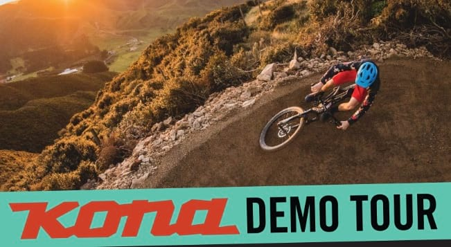 Kona Bicycles Demo at Vertical Earth Demo