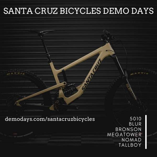 Santa Cruz Bicycles Demo at Fahrwerk Bike Shop - Dealer Event