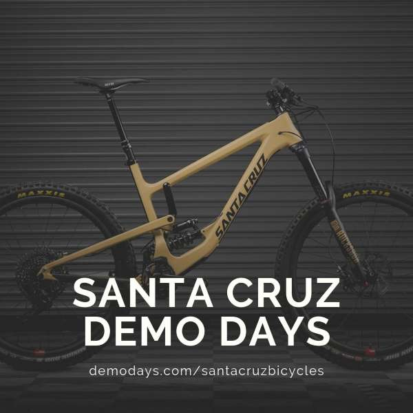 Santa Cruz Bicycles Demo at Illiniwek Forest Preserve