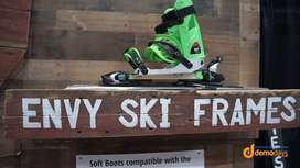 Envy Snow Sports Offers Ski Frame for Snowboard Boots