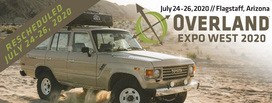 Overland Expo West Rescheduled For July 2020