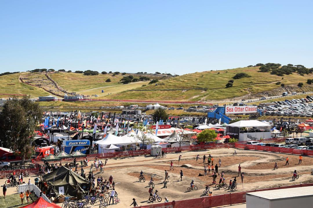 Exhibit with Sea Otter Classic Cycling Festival