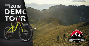 Rocky Mountain Bicycles Demo in Squamish, BC - Dunbar & Corsa Cycles