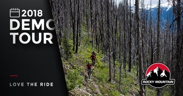 Rocky Mountain Bicycles Demo in Penticton - The Bike Barn