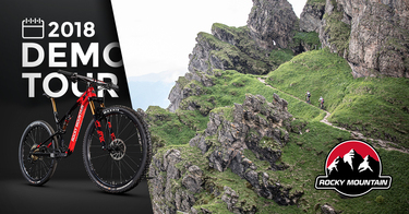 Rocky Mountain Bicycles Demo in Norway - FLYTSTI
