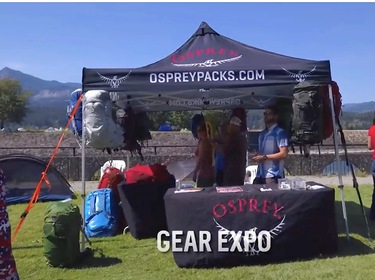 Osprey Packs @ Pacific Crest Trail Days