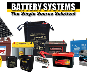 Battery Systems at Elkhart RV Open House