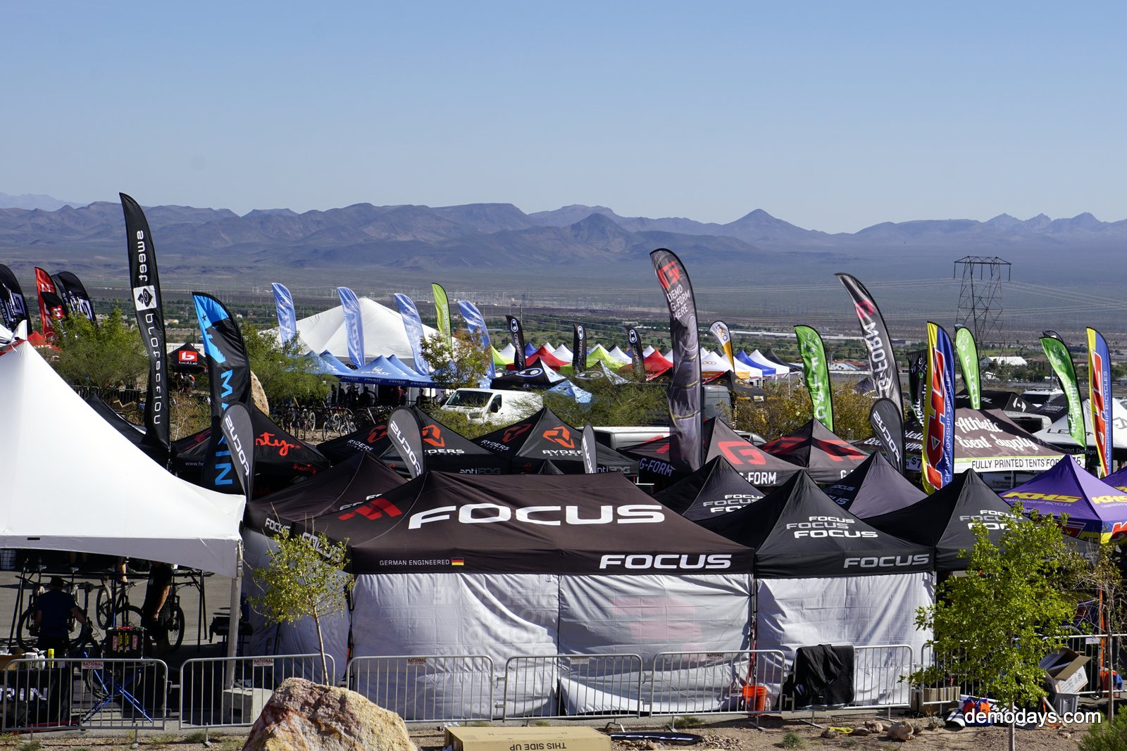2017 Interbike Opens with Outdoor Demo