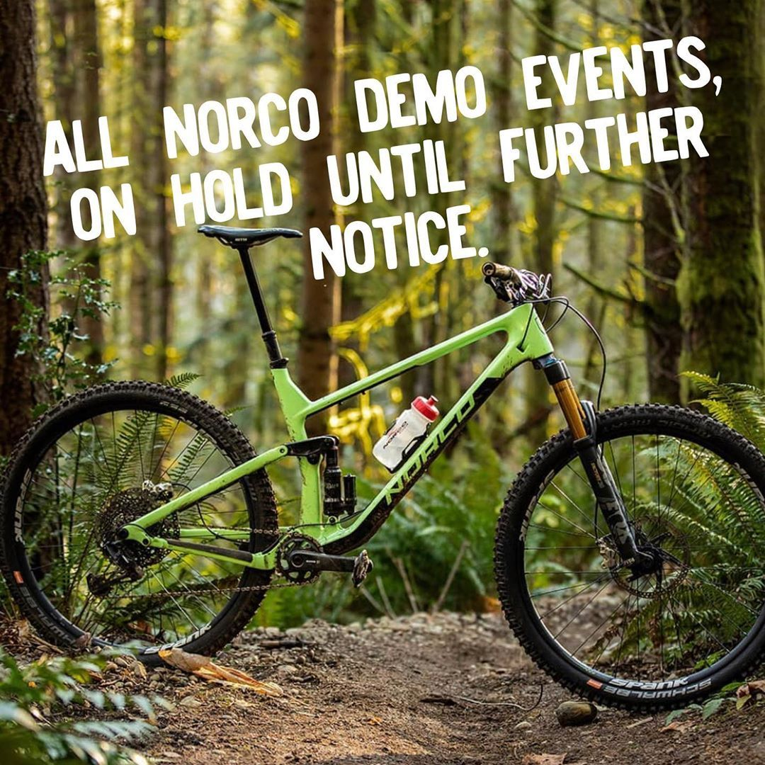 Norco Bicycles Griz Tour Bike Demos on Hold For 90 Days Due To Virus