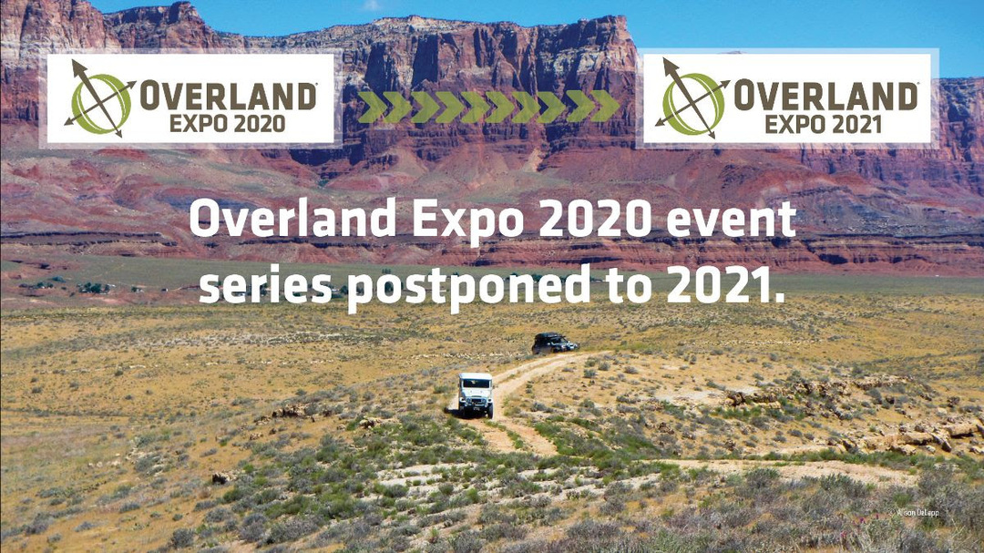 Overland Expo Cancels All 2020 Events